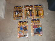 The Beatles Yellow Submarine Figures Set Of 5 Mcfarlane 2000 In Packages Rare