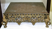 Antique Vintage Large Solid Brass Bible Stand Stunning