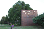 One Single Burial Plot- Resurrection Cemetery Oklahoma City Ok Sold By Owner