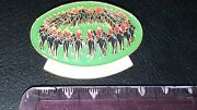 Royal Canadian Mounted Police Oval Pin W Enamel - Rcmp Grc Look Neat