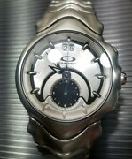 Judge Honed Grey Dial Watch Good Cond Minute Machine Timebomb Jury Nego