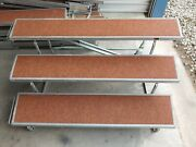 Lot Of 10 Wenger Tourmaster 3 Step Choir Riser 6and039 X 13.5 - Elementary Kids Only