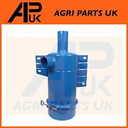 Ford 3300 3310 3600 4000 Tractor Oil Bath Air Cleaner Filter Assembly 2 Inlet