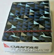 Vintage Qantas Airlines Playing Cards Mint In Sealed Box
