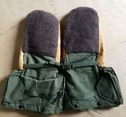 Us Military Mittens Extreme Cold Weather Medium With Liners