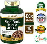 French Maritime Pine Bark Extract 400mg 180 Capsules 95 Proanthocyanidins