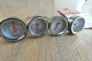 Charcoal Companion Steak Grilling Meat Button Thermometers - Reusable Set Of 4
