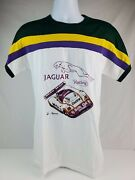 Vintage 1980and039s Jaguar Xjr Le Mans T Shirt Never Worn Menand039s Size Large Made Italy