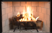 Superior Wrt3543 Wood Burning Fireplace With Stacked Panels And Insulated Firebox