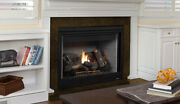 Superior Drt4045 Direct Vent Gas Fireplace W/ Millivolt System And Black Interior