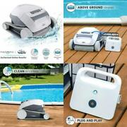 Dolphin E10 Automatic Robotic Pool Cleaner With Easy To Clean Top Load Filter Ba