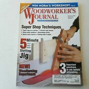 Woodworkers Journal January/february 2004 Volume 28 Number 1