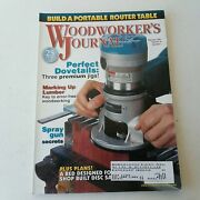 Woodworkers Journal January/february 2001 Volume 25 Number 1