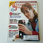 Woodworkers Journal July/august 2002 Volume 26 Number 4  071486021230