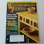 Woodworkers Journal July/august 2008 Volume 32 Number 4