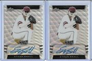 2019 Leaf Metal Draft Ethan Small Silver Wave Prismatic Auto Rc /30 Brewers