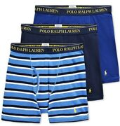 Polo 3 Pack Boxer Briefs Classic Reinvented Underwear 42.50 Nwt