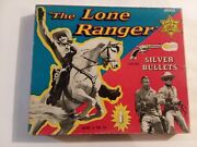 1956 The Lone Ranger And039silver Bulletsand039 Game - Unused -nr. Mint