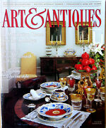 Art And Antiques Magazine Dec 1994 Yuletide Nyc California Drawings