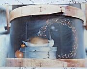 Kerry Smith 1990 Cananda Goose Decoy Box Oil Still Life Painting Pattern Pack