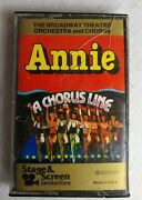 The Broadway Theater Orchestra And Chorus Cassette 1983 Annie A Chorus Line