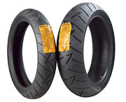 Continental Road Attack 2 Evo Gt 120/70zr17 F 180/55zr17 R Motorcycle Tires Set