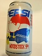 Pepsi Soda Can Never Opened - Empty Can