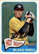 Blake Snell Signed 2014 Topps Heritage 96 Autographed Hot Rods 58884