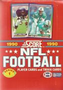1990 Score Football 251-660 - Complete Your Set Pick 1 Or Buy 6 For Free Ship
