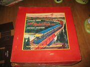 Vintage Standard Guage Model Train Set Baltimore And Ohio Battery Operated