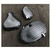 Set Abs Covers Case Protector Engine Silver Royal Enfield Interceptor Tnt Gt 650
