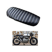 Seat Short Cafe Racer Style Accessories Black Royal Enfield Intersepter650 Gt650