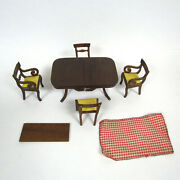 Dollhouse Lynnfield Dining Room Table Chair Sonia Messer Antique Furniture Lot
