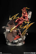 Justice League New 52 21 Inch Statue Comiquette - The Flash Sideshow 200516