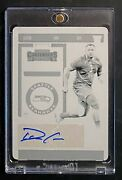 2019 Contenders Auto 1/1 Demarcus Christmas Rookie Printing Plate Rc Seahawks