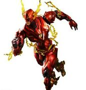 Dc Variant 8 Inch Action Figure Play Arts Kai Series - Flash