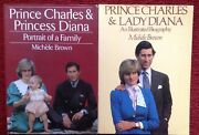 Princess Diana Portrait Of A Family And Illustrated Biography Books Rare
