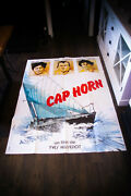 Cap Horn Eric Tabraly 4x6 Ft French Grande Original Movie Poster 1978