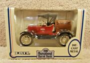 1989 1/25 Scale Diecast Ford 1918 Runabout Barrel Coin Bank True Value Hardware