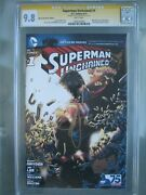 Superman Unchained 1 We Can Be Heroes Cgc 9.8 Ss Signed Scott Snyder Rare