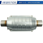 Universal Catalytic Converter 2 Inlet/outlet With O2 Port Epa Compliant