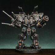 Hq Hand-painted Collectible Miniature Combat Robot 54 Mm Core Clash Wargame
