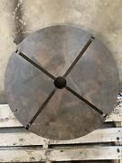24 4 T-slot Fixture Plate 2.5 Bore Unknown Brand Rotary Table Lathe Chuck