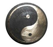 32inch/ 80cm Tai Chi Wind Gong With Mallet For Sound Therapist Yoga Mediation
