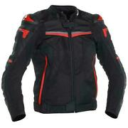 Richa Terminator Leather Motorcycle Sport Jacket Red