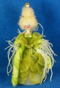 Christopher Radko 1998 10 Italian Green And Gold Mlle. Marie 98-070-0