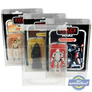 Star Wars Display Case For Vintage Collection 3.75 Figure 0.5 Pet Protector Box