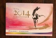 China Airlines Desk Calendar 2014 New Collectible