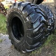 21lx24 Duramax Otr Tire R-4 Industrial Tractor Lug 14-ply Used 33/32 Clean, 1-na