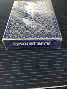 Absolut Playing Cards - Sealed Deck, Original, In Perfect Condition.